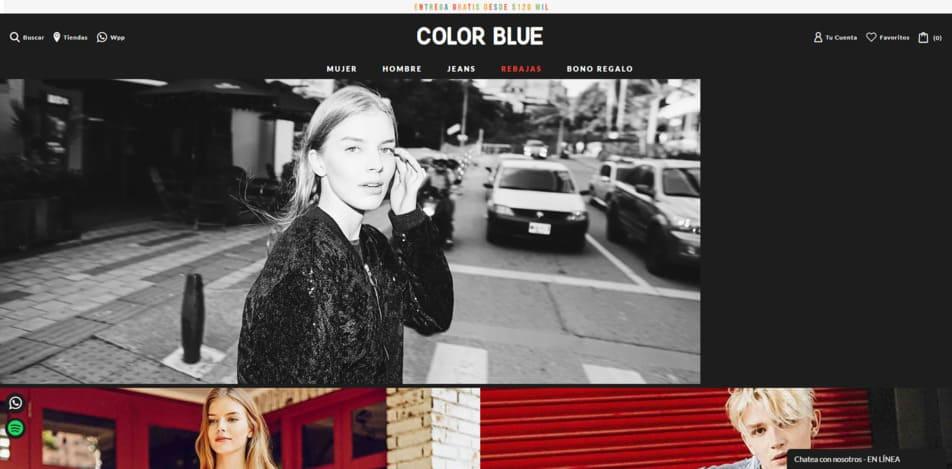 COLOR BLUE   Tienda de Ropa Online Colombia