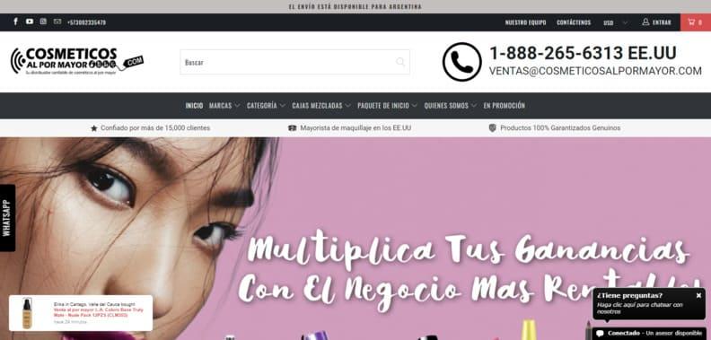 Cosméticos y Maquillaje al por mayor  Distribuidores de maquillaje