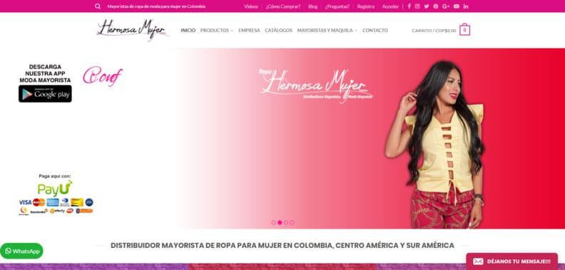 Distribuidor Mayorista Ropa de Mujer en Colombia  Confecciones  Venta por Catálogo