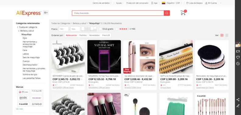 Envío gratis de Maquillaje de Belleza y salud y más en AliExpress