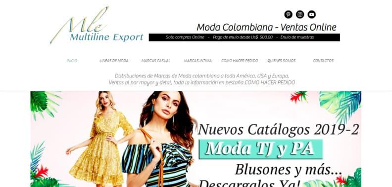 Ropa Al Por Mayor   Colombia   Multiline export Tienda Online
