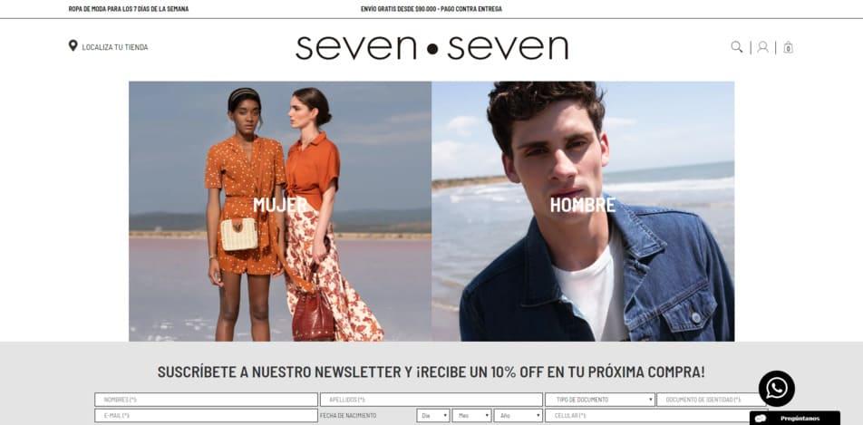 SEVEN SEVEN  Tienda de Ropa Online Colombia - Moda Juvenil